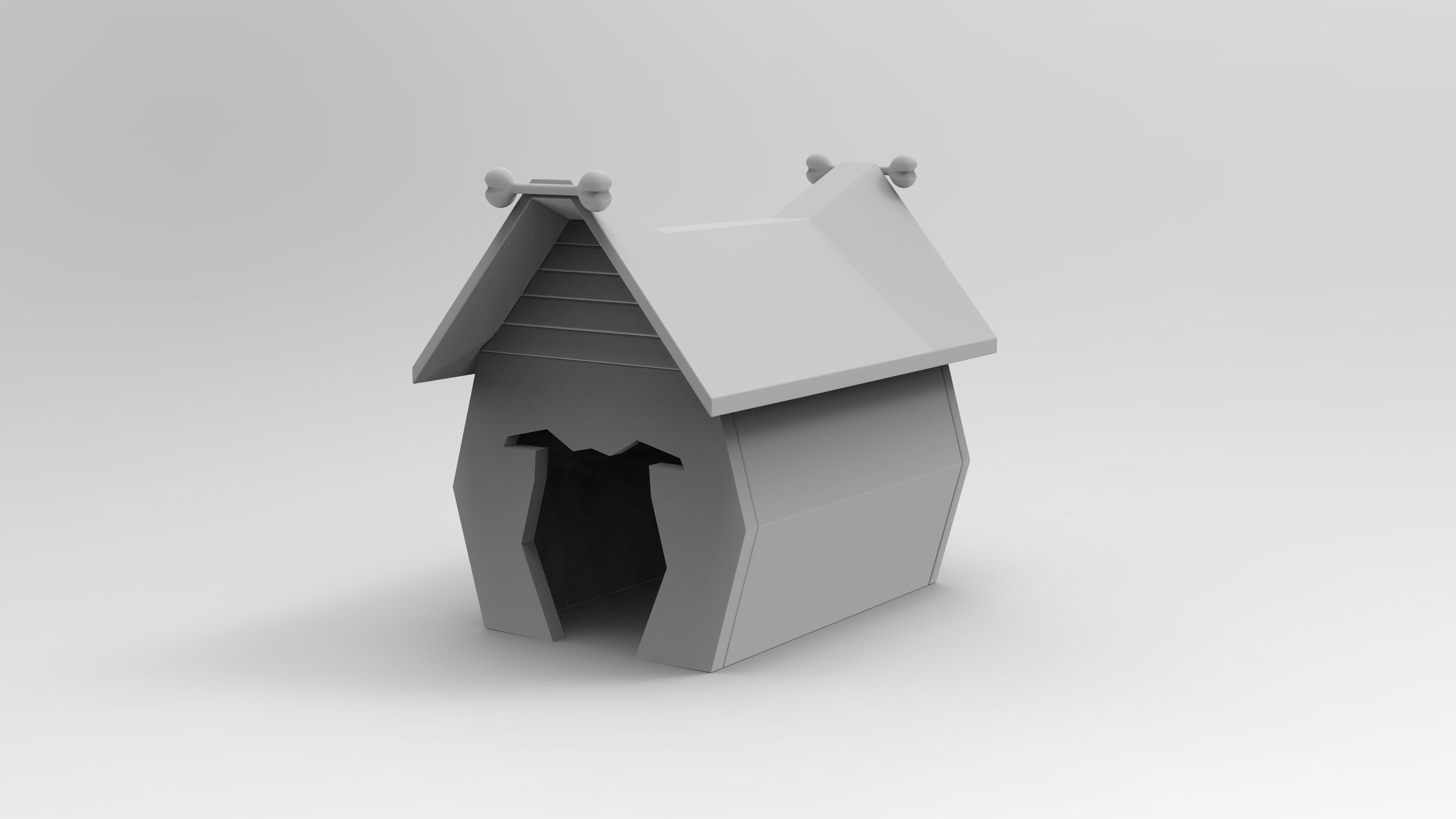 Dog House 3D Print