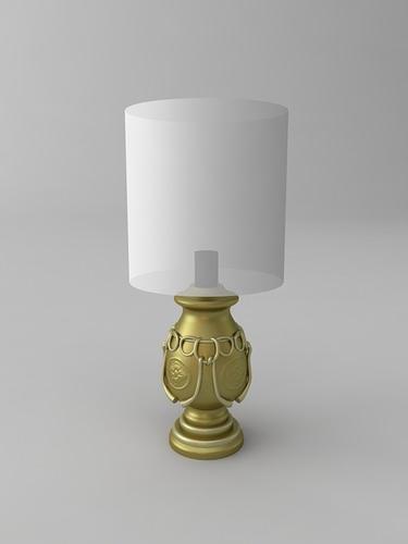 Table lamp3D model