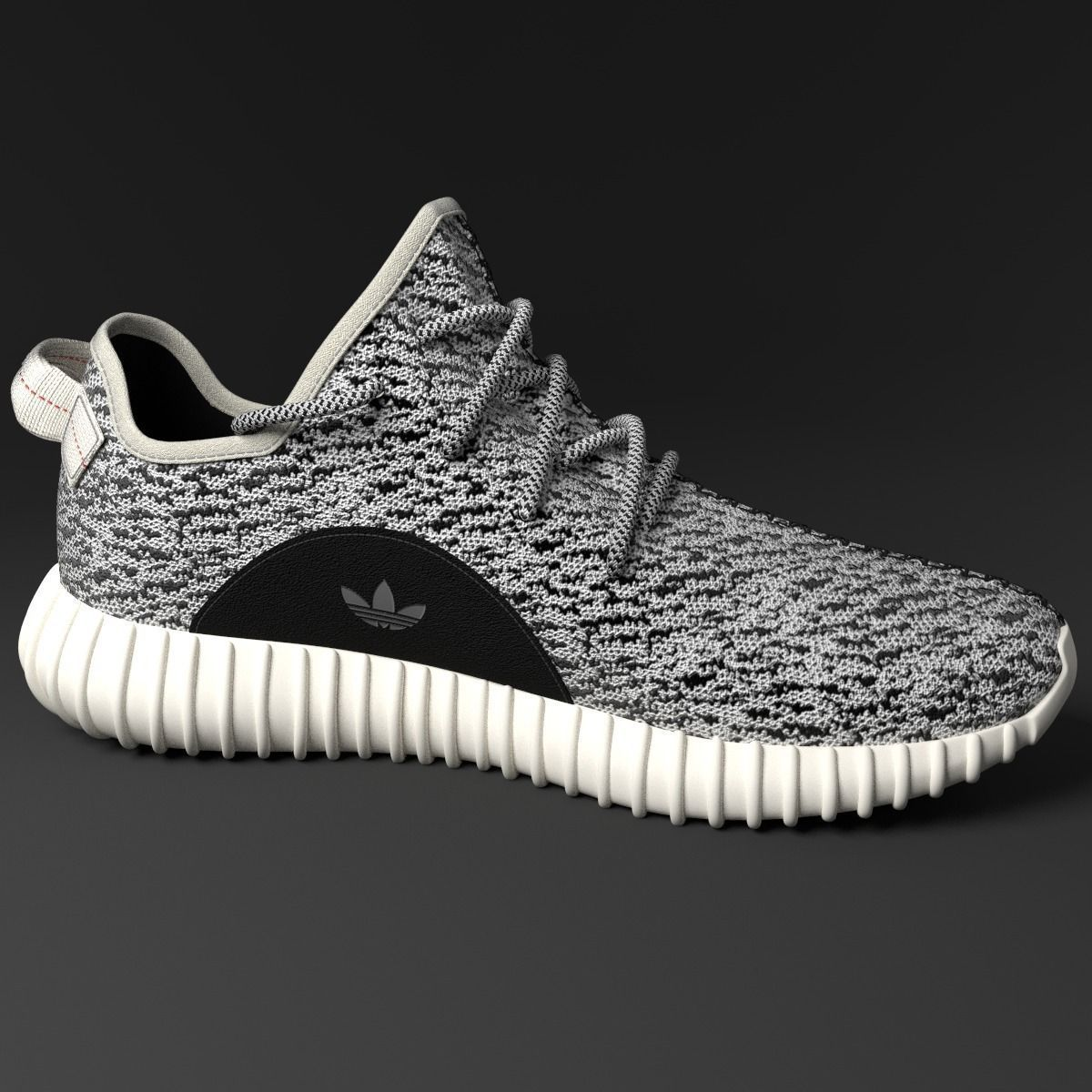 ... yeezy 350 low 3d model max obj fbx c4d stl blend 5 ...