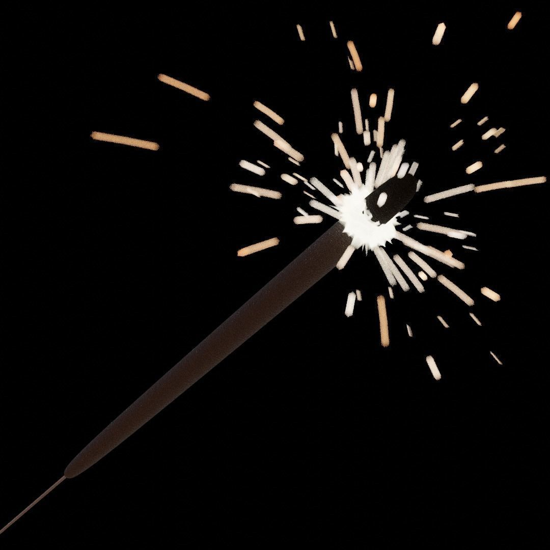 Sparklers animated