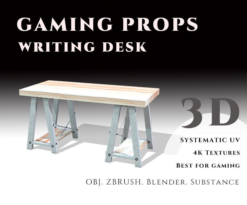 Gaming Props - Writing Desk