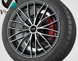 wheel OZ Italia 150 3D Model