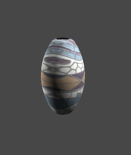 Vase model3D model