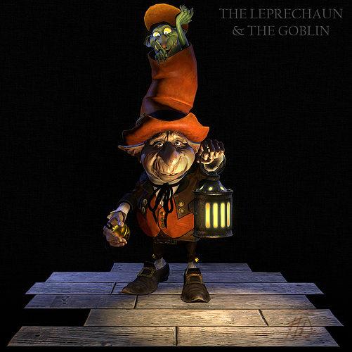 the leprechaun the goblin 3d model obj 1