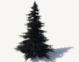 realtime free pine trees sample model 3d asset