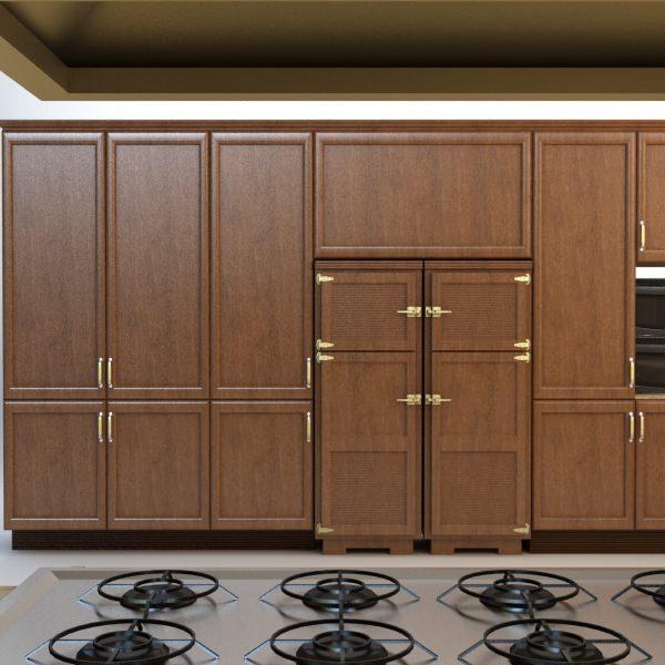 Complete Kitchen Cabinet Set: Complete Kitchen Cabinets Appliances 3D Model MAX