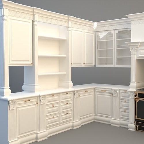 kitchen cabinets 3d models free kitchen cabinets appliances 3d model max 3ds cgtrader 19899