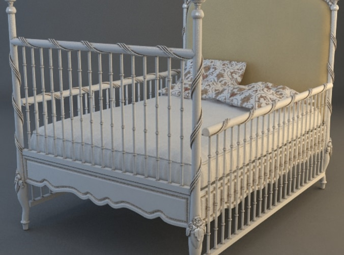 Childs Bed3D model