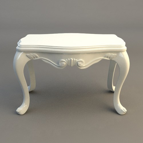 Small End Table3D model