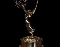 3D model Emmy Award Trophy