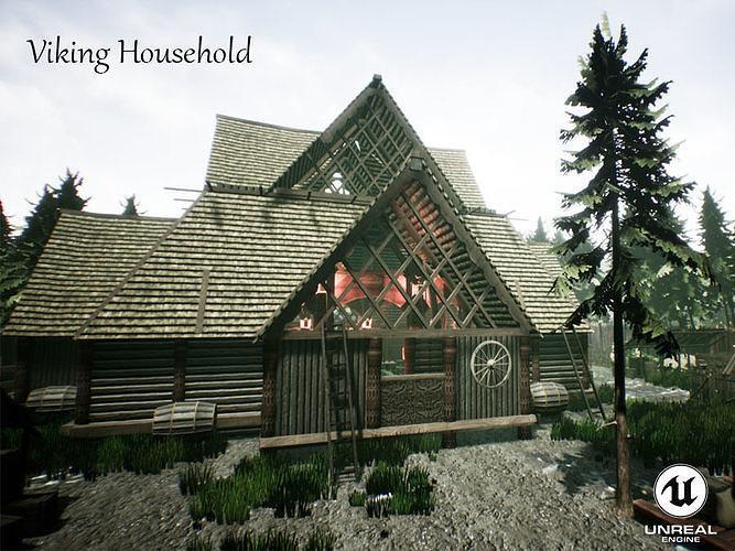 Viking Household Unreal Engine UE4