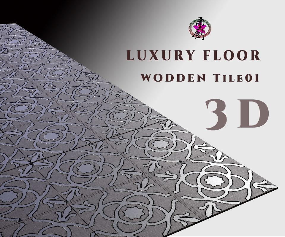 Luxury Floor - Wooden Tiles 01