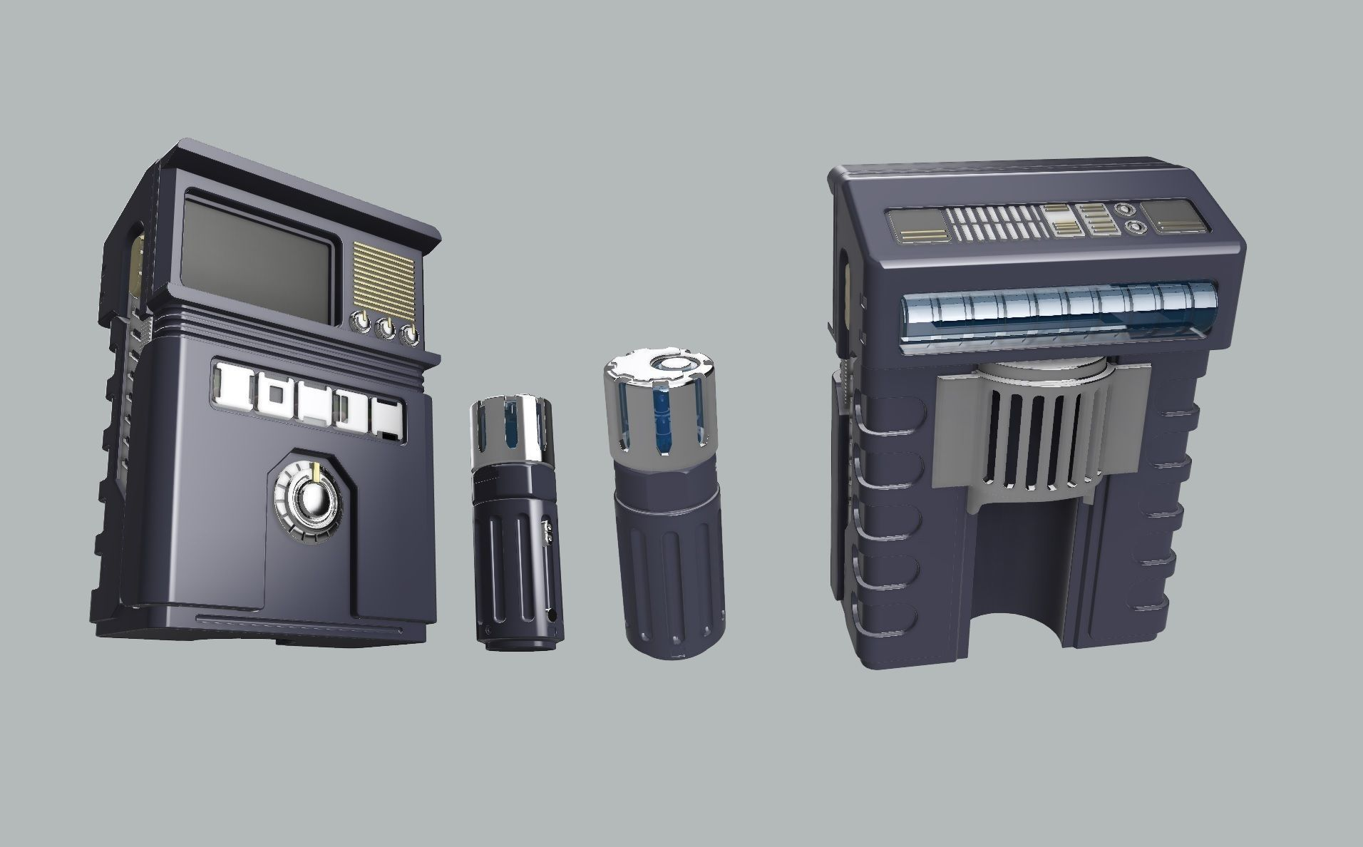 Discovery Concept Tricorder UPGRADE KIT
