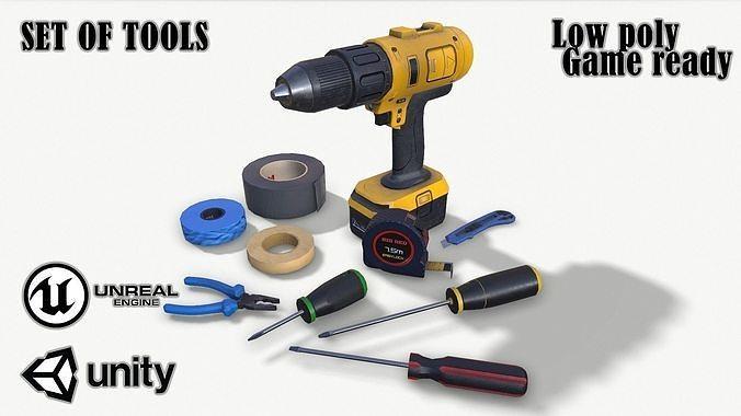Set of tools 01