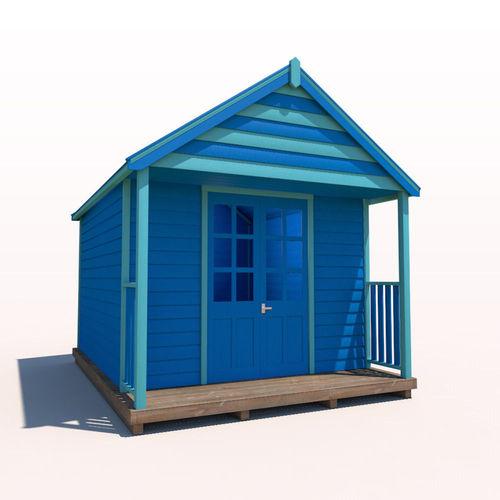 beach hut 3d model max obj mtl 3ds fbx c4d ma mb 1