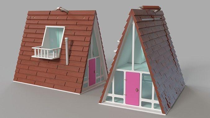 A-Frame Dollhouse