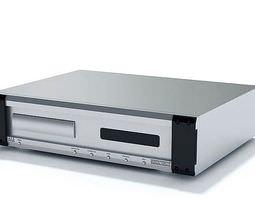 Dvd Video Player 3D Model