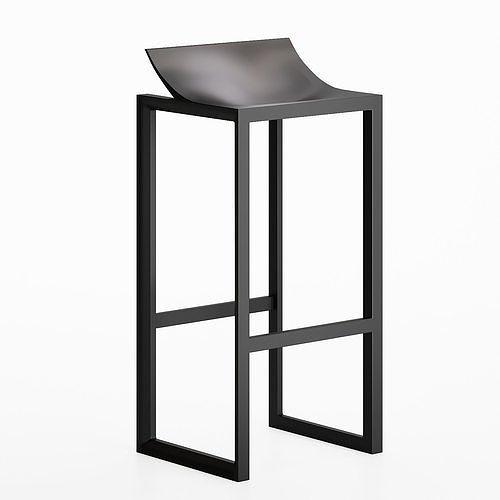 Wall Street stool by Vondom