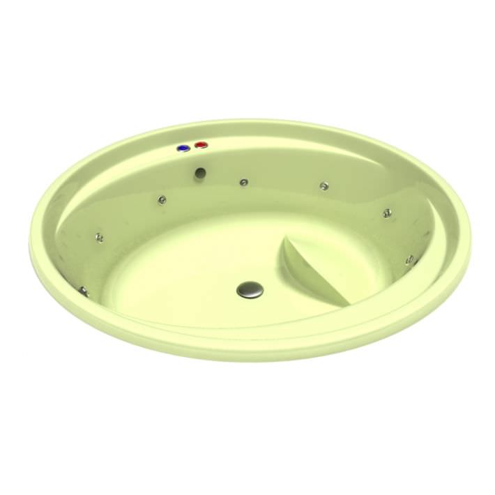 Bath Tub With Jets 3D Model