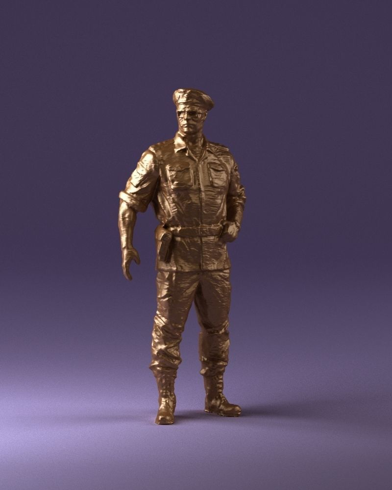 General in ambush camouflage 0923 3D Print Ready