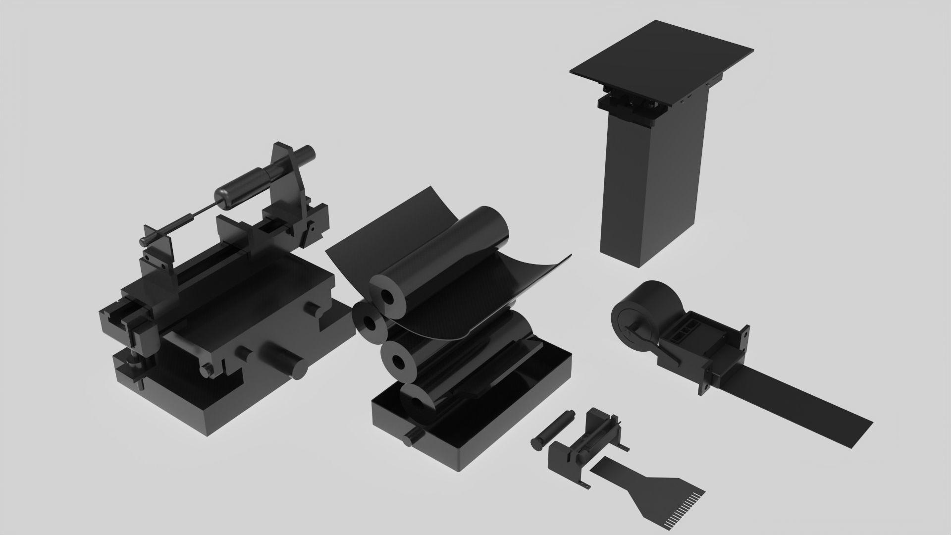 machine  printer part