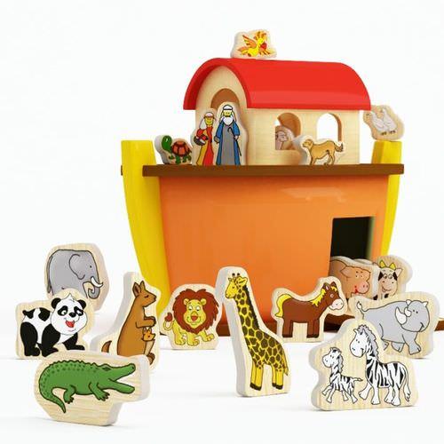 Toy Noah s Ark3D model