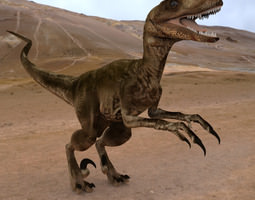 Deynonichus 3D model