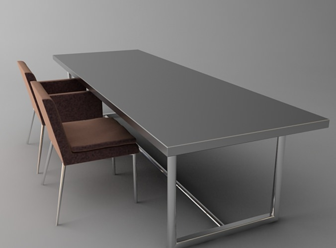 Contemporary Conference Table Chairs3D model