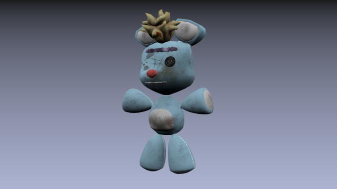 Teddy Bear Old Cartoon3D model