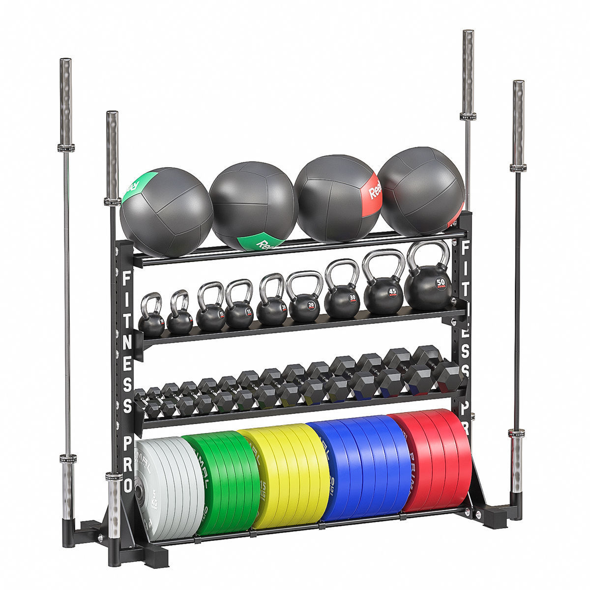 Weight storage rack