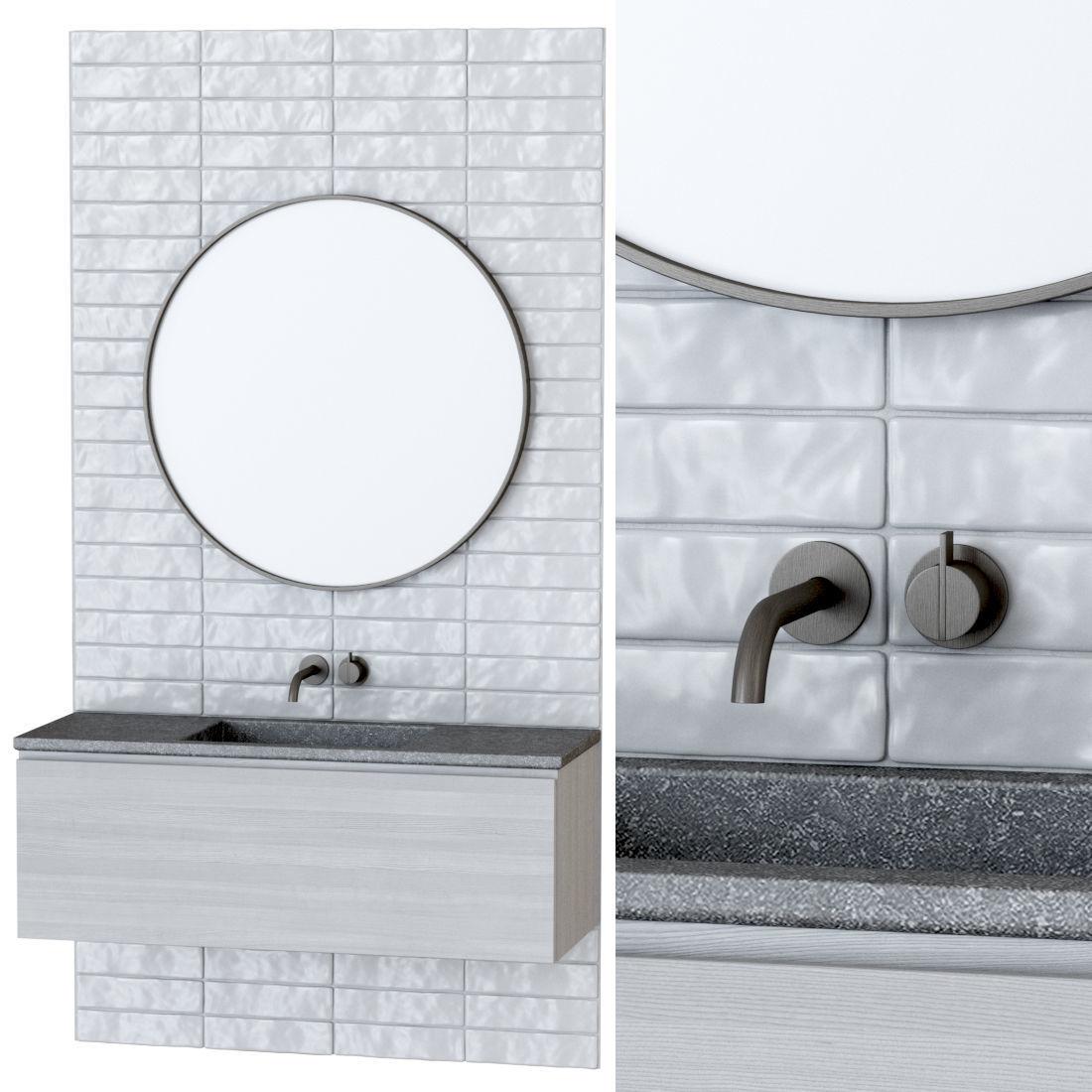 Furniture set for bathroom B1