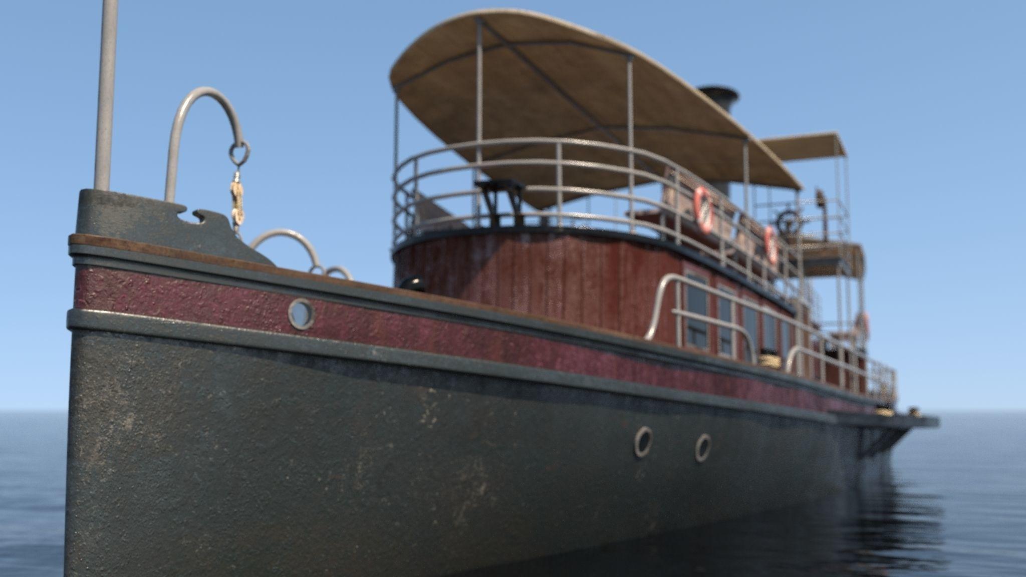 Tarz-i Nevin Steamboat