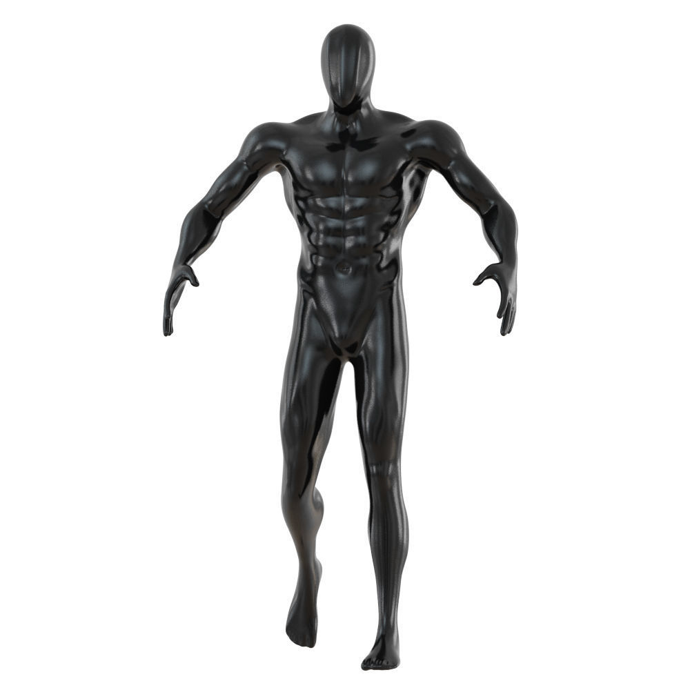 Fitness male mannequin 137