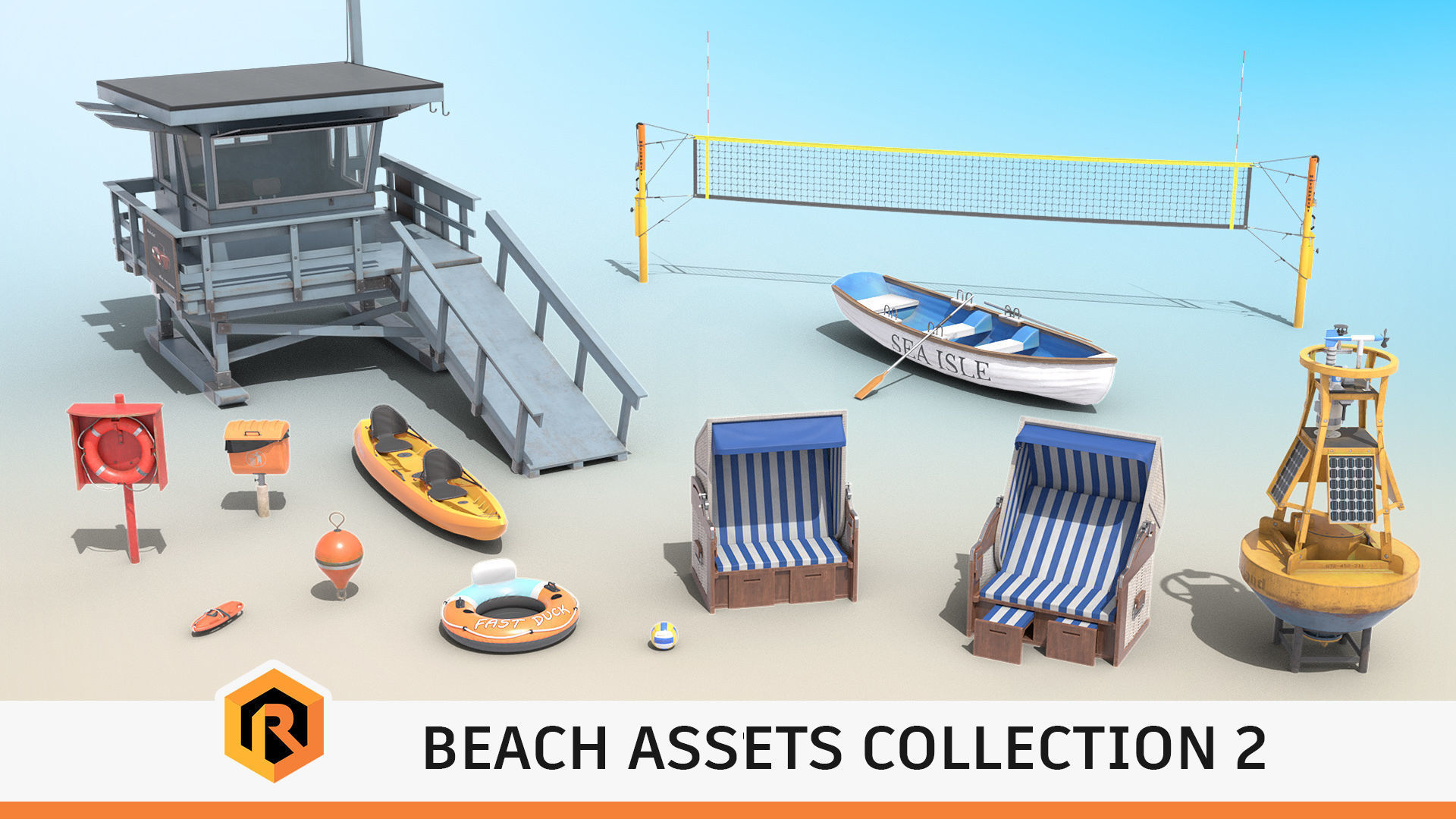 Beach Assets Collection 2
