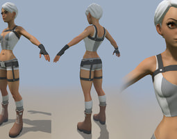Grid_pretty_girl_3d_model_obj_303c182d-00e7-4bd4-9b96-37ee4d72b6a9
