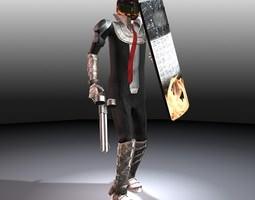 Macho Man 3D Model
