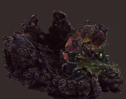 game-ready 3d model characterchallenge - nightmare