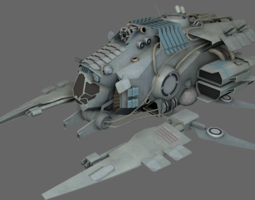 Support Bomber MS 3D Model