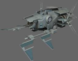 Command Ship MS 3D asset