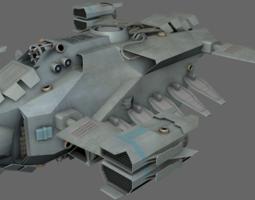 dropship ms realtime 3d model