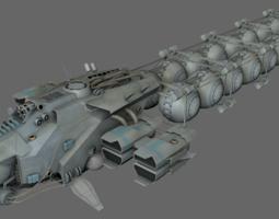 3d model VR / AR ready fuel transport ms