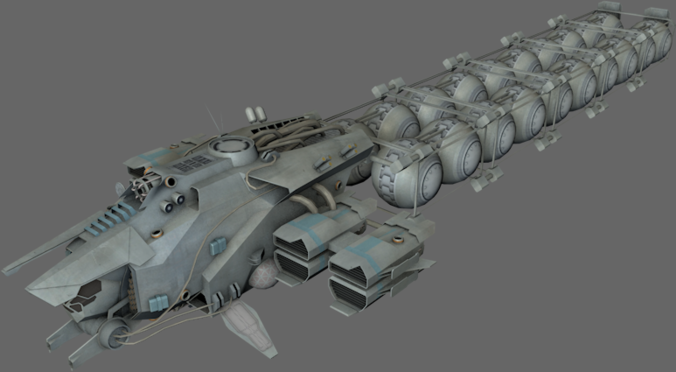Sci Fi Fuel : Fuel transport ms d model game ready obj ds cgtrader