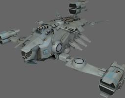 Heavy Fighter MS 3D Model