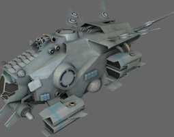 3D model VR / AR ready Interceptor MS