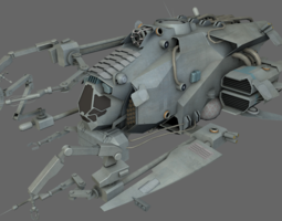 3d model realtime repair support ship ms