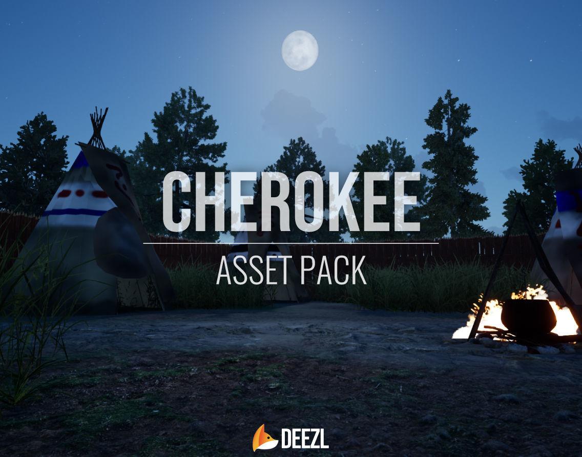 Cherokee - Asset Pack - Blender - FBX - OBJ