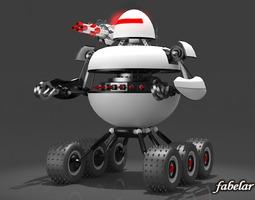 3d model robot 01