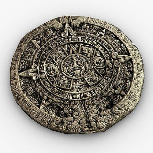 3d Model Maya Calendar Cgtrader