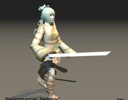 Alicia The Papiromancer 3D Model