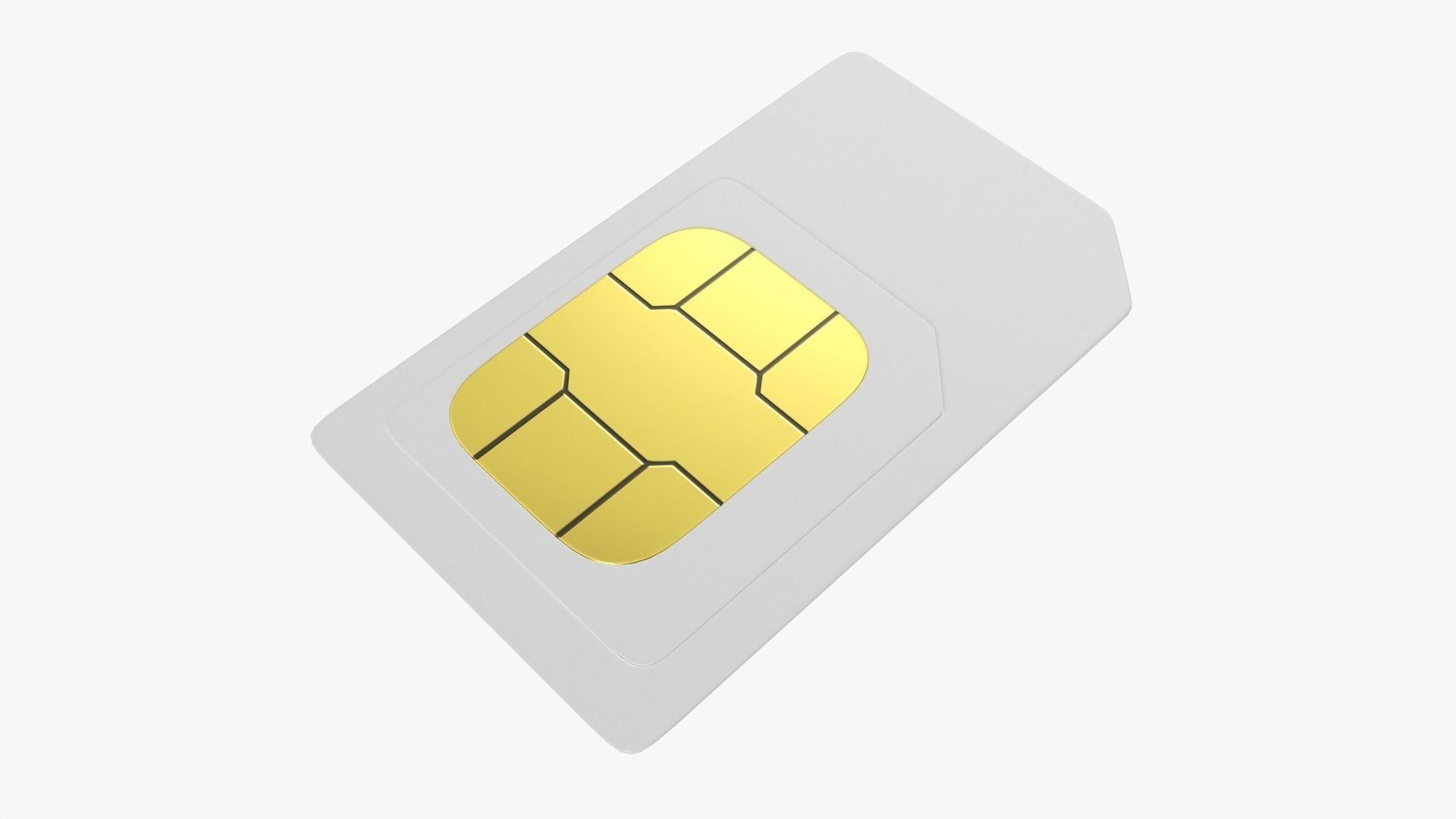 SIM mobile card 02